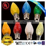 LED Christmas lamp/ Festival light/holiday use C6C7C9bulbs