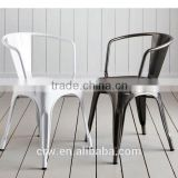 MCH-1509 Stackable Metal Arm Chair for Restaurant                                                                         Quality Choice