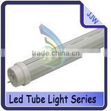 SMD 3528 T8 LED tube lighting 4ft/1200mm 18W,AC85-265V,1800LM,Transparent/Milk white /Striped cover