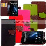 Leaf Leather Case for Doogee X5 Pro, mobile phone case for Doogee X5 Pro