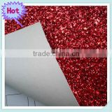 Wholesale PU Glitter Fabric for Glitter Leather Fabric Wallpaper and Shoes