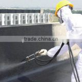 Factory directly supply Quick-setting Spray liquid rubber Roof Coating for wall