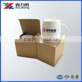 Corrugated Carton box packaging, Eco friendly Recycled Natural Kraft Paper Box, folding paper box