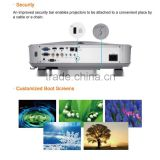 Low cost noise Native 1080p full hd 3d laser projector With HDMI VGA USB For Schools