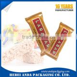 food grade cereal bar packaging/energy bar plastic bag