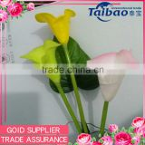 3heads real touch calla lilies bouquet wholesale PU calla lilies bouquet wholesale