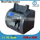 Intelligent Cash Sorter Money Detector Mix Value Discriminator for Kuwaiti dinar Notes Counter Bill Detector for KWD
