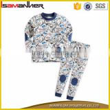 Baby toddler kid boys girls clothes sleepwear full sleeve kids pajama set                                                                                                         Supplier's Choice