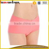 Pure low waist lady boyshorts seamless boxer womens panties for men