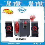 PC Speaker 2.1 2.0 5.1 channel slim satellites subwoofer HiFi Bluetooth USB SD TF Wi-Fi wireless for office home school use