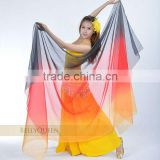 artificial silk belly dance veil,belly dance costumes,belly dancing costumes