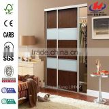 JHK-F01 Automatic Double Head Camera Positioning Cutting Plaster Slab Partition Wall Commercial Double Interior Veneer Doors