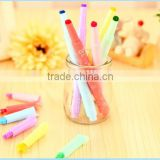 new design Candy color highlighter pen , lovely marker pen for gift , Stamp pen
