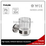 THUN bathroom accessories stainless steel single glass tumbler holder