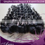 "free Parts Brazilian Hair Lace Frontal Closure Loose Wave 13""*4"" With Baby Hair Swiss Lace"