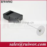 Cuboid Retractable anti theft pulling-box for wire harness positioning in electronic equipment