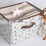 Hanger Medium Foldable Non-woven Fabric Storage Box with Lid