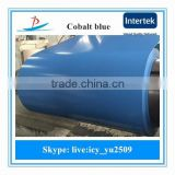 0.47*1000 sea blue coated steel sheet in coil used for construction building supply in Bangladesh, India