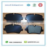 top quality! ceramic ranger rover brake pad with shim D1692/LR036574