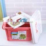 Household plastic first aid box/medicine chest/drug storage box