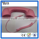 High quality Retro Mobile Phone Handset, Universal retro plastic telephone handset