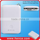 2000mAh portable Power Pack for iPhone/iPod/Galaxy S2&S3/Blackberry/HTC/Mobile phone/PSP/NDS...