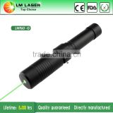 Super High Power 200mW Class 3 Power Green handheld laser Pointer on off switch Military Adjutable Focus High Power