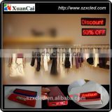 2015 hot sale cheap price Plastic All language shops discount promotion hotel reception sercice LED name badge/Card/Tag