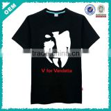Cheap T Shirt Printing/Cheap Black T Shirts in Bulk/China T Shirt Factory (lyt010074)