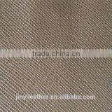 JRL787 new design cross pattern pvc imitation leather fabric for Bag factory dirtect sell