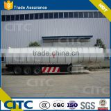 2 axle asphalt tank semi trailer/30,000liters Asphalt tank trailer 2 axles bitumen transport tanker
