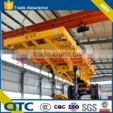 40ft CONTAIN CHASSI trailer manufacturer for heavy duty ( flatbed optional) with twist lock
