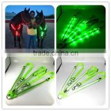 Factory Latest Green Led Flashing Horse Breastplate (First In the World)
