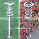 Stainless steel solar lawn light/solar garden light with Mono/ploy Crystalline silicon
