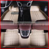 environmental protection the whole surrounded by leather car mats, car carpet, car mats leather material, five-seat car mats,