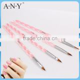 ANY Cheap Acrylic Handle Nail Design Care Nail Nylon Acrylic Brush