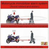 6~12v RFID remote control motorcycle security alarm engine immobilizer system safety product