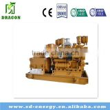 syngas fuel waste 150kw wood chip and crop biomass gas generator set water cooled fow mini power plant cooking