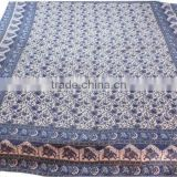 RTBSC-2 Elephant Printed Double Bed Sheet Mandala Work Beautiful Home Furnishing Bed Spread From Jaipur