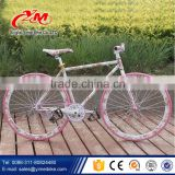 2015 promotion fixed gear bike factory/fixed gear bike/frame aluminium fixed gear bicycle