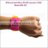 New Long Range Handheld RFID Reader Writer Silicone Wristbands For Events