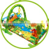 Hot Baby folding play mat with sides non toxic crawling sleeping floor mat for newborn baby wholesale price from china