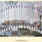 wholesale crystal Eco-friendly beads curtain for hotel restaurant or home Christmas decoration not acrylic