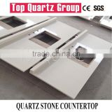 Artificial quartz stone for high quality kitchen counter top or Cheap quartz stone tiles and slabs
