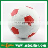 particle surface rubber soccer ball