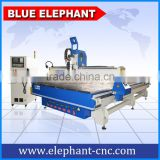 ELE 2140 atc cnc cabinet processing machine with 9kw hsd air cooling automatic tool change spindle