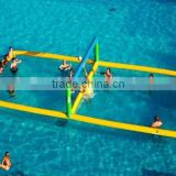 water floating Inflatable volleyball court beach Inflatable volleyball court games