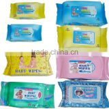 baby wet tissue, 20, 50, 72, 80, 90, 100, 120wipe, mouth and hand care, soft cleaning wet wipe