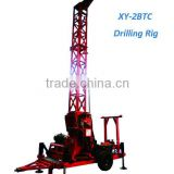 XY-2BTC Trailer Mounted Diamond Core Drilling Rig for Mine Drilling With Wire-line System
