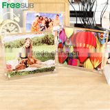Freesub BL-09 L280*H230*W10mm sublimation picture frame glass